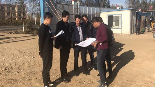 市发改局赴前阳镇调研相关企业建设及发展情况
