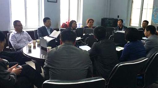 东港市档案局到凤城市档案局参加档案软件研讨会