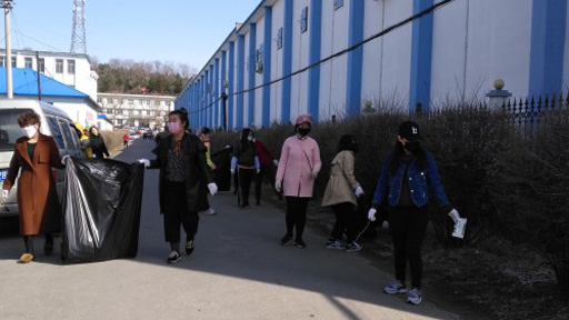 长山镇开展第30个爱国卫生清洁月活动