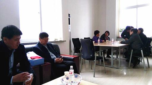 中国纺织工业联合会到大孤山经济区走访调研