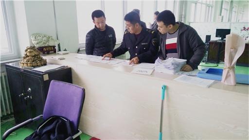 大孤山经济区安监局开展工贸企业有限空间作业专项检查工作