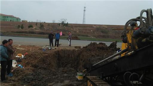 海洋红农场养殖场区自来水管道施工进行中
