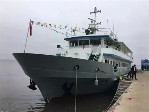 """北井子獐岛""""配置""""升级395座大客船顺利通航"""