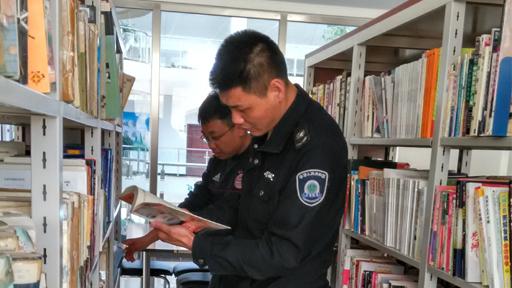 管理站党支部开展主题读书活动